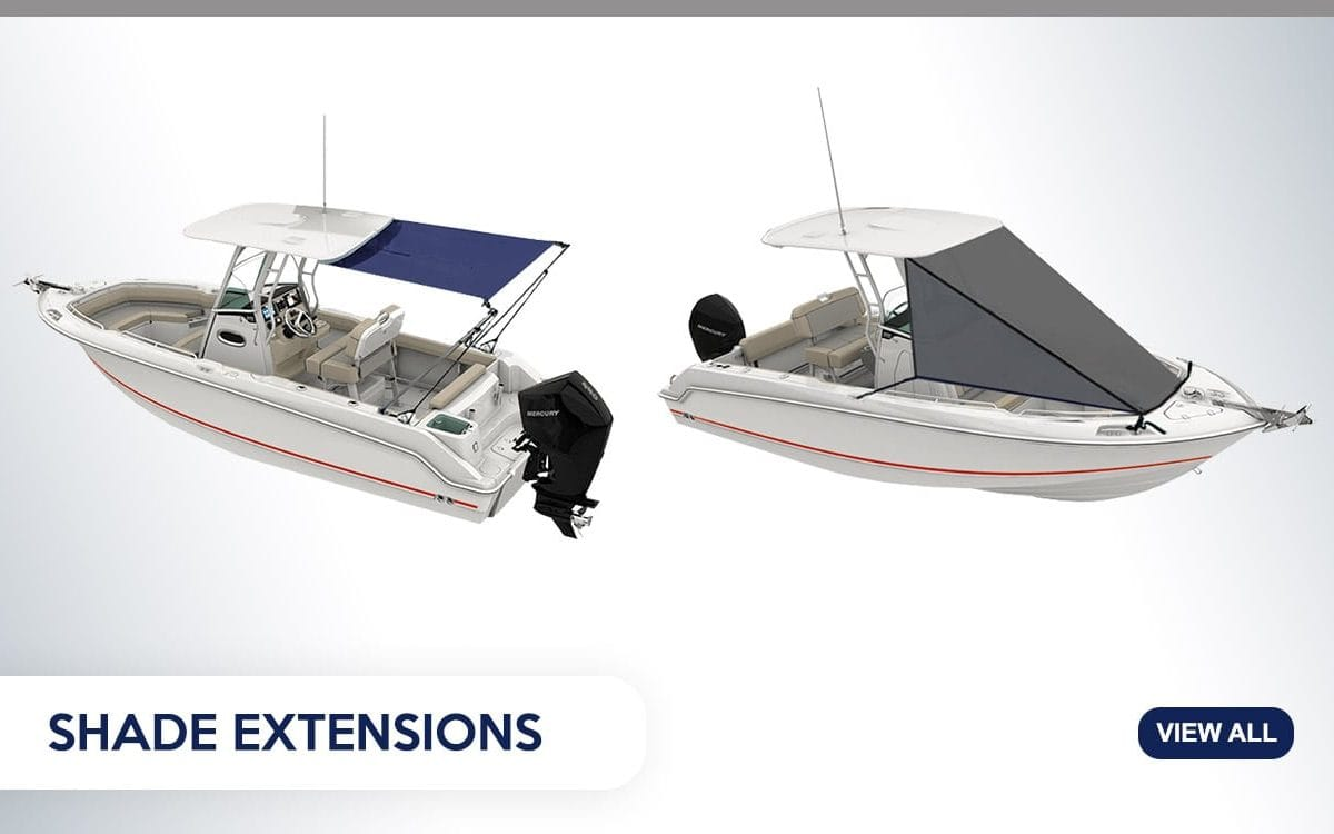 Boat Shade Extensions